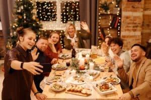 Kerstmis familie Bloei!