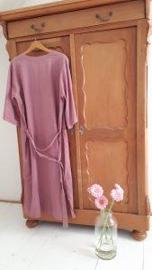 Roze kimono
