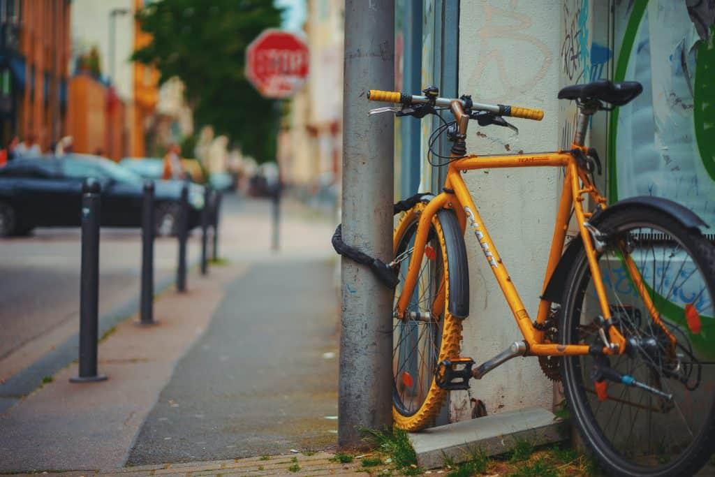 Vertrouw op god maar zet wel je fiets op slot