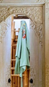 groene kimono bloei!