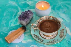 rituelen en meditaties kleur turkoois